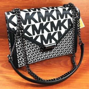 Michael kors Whitney signature leather bag